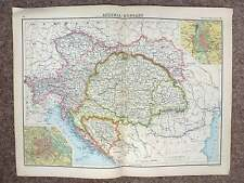 1902  Map of Austria Hungary