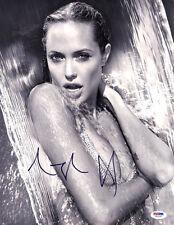 Angelina Jolie SIGNED 11x14 Photo Maleficent Salt HOT *SEXY* PSA/DNA AUTOGRAPHED