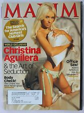 Maxim Magazine #111 2007 March Christina Aguilera
