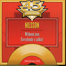 NILSSON CD SINGLE BELGIQUE WITHOUT YOU