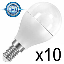 10 x LED Energy Saving Golf Ball Light Bulb 4.6w Screw Cap SES E14 25w/40w s8225