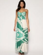 "Size 14 COAST London ""Jennifer"" Angel Maxi Dress turquoise green cream BNWT"