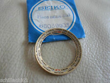 SEIKO 6117, Place Name Dial, World Timer, (Gold) Genuine Seiko Nos