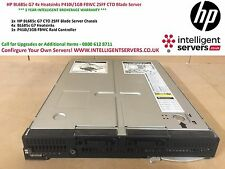 HP BL685c G7 4x Heatsinks P410i/1GB FBWC 2SFF iLO3 CTO Blade Server