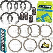 Apico Clutch Kit Steel Friction Plates & Springs For Kawasaki KX 125 1994-2002