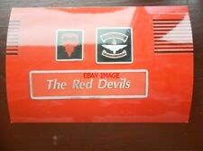 PHOTO  NAMEPLATE - THE RED DEVILS CLASS 82 LOCO NO 82147