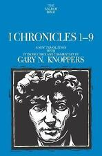 I Chronicles 1-9: A New Translation with Introduction and Commentary By (Anchor