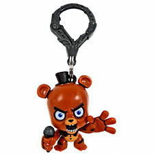 "3"" Five Nights At Freddy's Fnaf Collector's Clips Figure Keychain Freddy Fazbear"