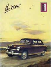 1952 Fiat 1400 poster at the 1950 Geneva Motor Show  8 x 10 Giclee print