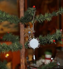 Alter Christbaumschmuck - Gablonzer Ornament  - Original um 1920  (# 6878)