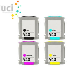 4 Chipped compatible Ink for HP 940 XL Officejet Pro 8000 8500 8500A A809n A909a