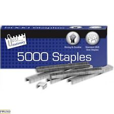 5000 Staples Staplers 26/6mm Office Supplies Student Business Heavy Duty School