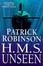 HMS Unseen, By Robinson, Patrick,in Used but Acceptable condition