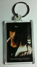 AS-IS EMINEM NIKE HAT DARK SHADOWED FACE WHITE JACKET KEY CHAIN KEYCHAIN