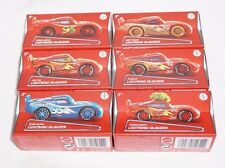 Disney Pixar Cars Set of 6 Lightning McQueen In a Box NEW 2016 Sealed Unopened