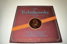 3 LP Box Tschaikowsky-Capriccio Italien, Symphonie Pathétique, Klavierkonzert...