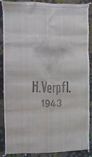 MINT UNISSUED!!!! Original German WWII Supply Sack Marked H.Verpfl. & Dated 1943