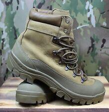 EUC GI Army Issue Bates Mountain Combat Boots E03412C Leather, Size 10 Regular