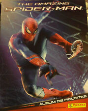 The amazing spiderman panini set complet de 192 autocollants loose