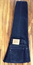 VTG USA LEVIS 550 RELAXED FIT TAPERED LEG BLACK HIGH WAIST MOM JEANS 13 JR L L32