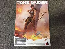 "TOMB RAIDER LARA CROFT 8"" Play Arts Kai Statue New In Box"