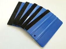 "5 Pcs - 5"" Felt Edge Squeegee Vinyl Decal 3M Wrap Window Tint Application Tool"