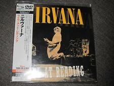 NIRVANA live at reading JAPAN MINI LP SHM CD + DVD region-all FOO FIGHTERS SEAL