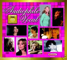 """""""Audiophile Vocal"""" Master Music 2013 Stereo Hybrid SACD CD New Sealed"""