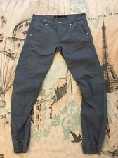Men's Burtons Blue Jeans, Tapered, Slim, Skinny, UK Size 32 R