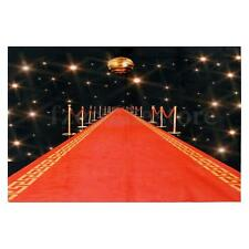 Flash Red Carpet Photography Backdrop Huge Wall Art Silk Poster Background Decor