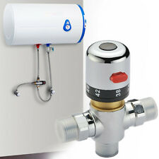 Copper thermostatic mixer Mixing Hot&Cold Water Shower solar water heater valve