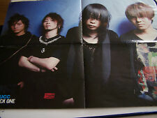 AFFICHES , POSTERS . RECTO MUCC ROCK ONE . VERSO KOKIA . 40 x 55 .