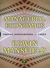 Managerial Economics by Edwin Mansfield (1998, Hardc...