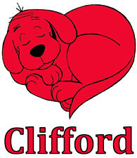 Clifford The Big Red Dog # 10 - 8 x 10 - T Shirt Iron On Transfer