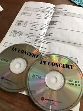 PEARL JAM  / THE POLICE 2 CD LIVE RADIO SHOW Selten