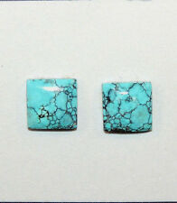 Turquoise Cabochon 10x10mm with 3mm dome from Nevada Set of 2 (10475)