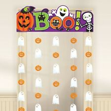 Family Friendly Halloween Door Curtain - 85 cm x 1.65m- Spooky Party Decoration