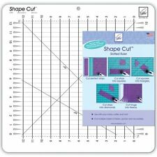 "June Tailor Shape Cut Slotted 12""x 12""  Patchwork Ruler"