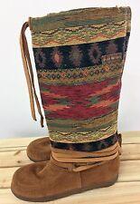 Steger Mukluks Redrock Ladies Size L9 R Southwestern Genuine Moosehide Boots