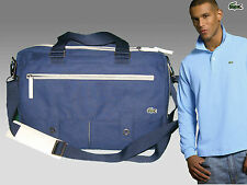 LACOSTE Business Style Laptop Briefcase Bag New Casual 1 Blue