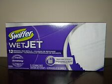 New 12 ct box Swiffer WetJet Original Pad Refills Cleaning Floor Mop Disposable