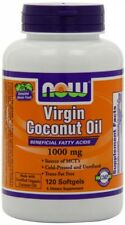NOW Foods Virgin Coconut Oil 1000mg, 120 Softgels