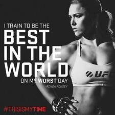 "Ronda Rousey UFC Bantamweight Champion poster 24"" x 24"" Sport Poster l11"