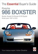 Porsche 986 Boxster The Essential Buyers Guide book paper 1997 to 2005