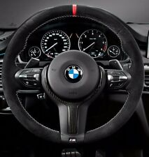 BMW OEM F15 X5 and F16 X6 M Performance Alcantara & Carbon Steering Wheel