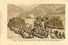 1920 Bhutan Timber Work Kings Palace Troughs Himalaya Tents