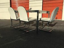 Milo Baughman  Dining Table/Chairs