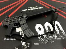 Hot Toys 1/6 Scale MMS238 Terminator T800 Battle Damaged Arnold MACHINE GUN