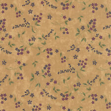 Buttercream Sprigs Lady Slipper Lodge Moda Quilt Fabric by the 1/2 yd #83-12