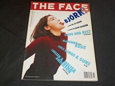 1993 NOVEMBER THE FACE MAGAZINE - BJORK - GREAT PHOTOS INSIDE - O 5776